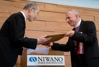 Bishop Younan receives Niwano Peace Prize for non-violent, faith-based approach towards just peace in the Holy Land